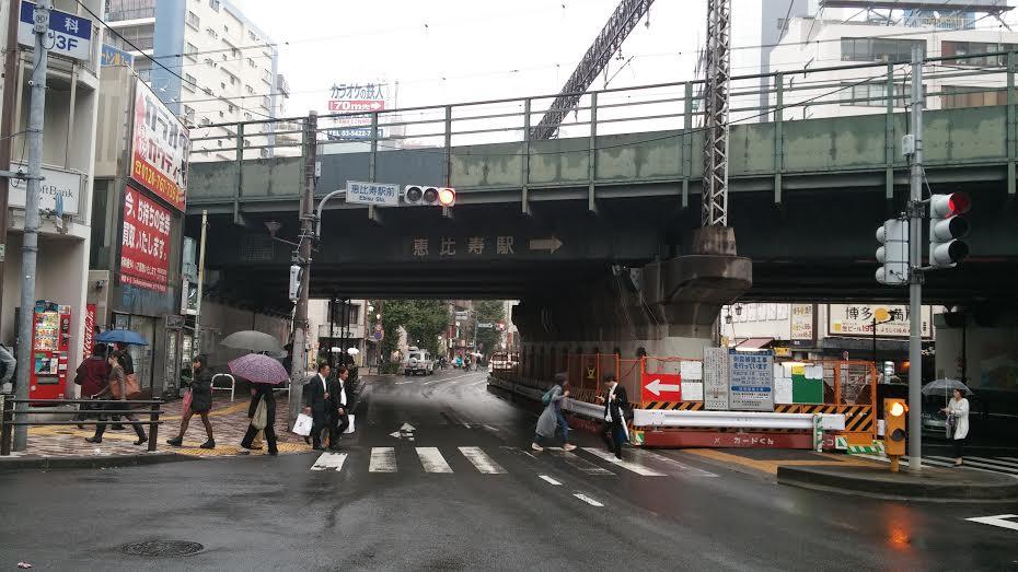 恵比寿駅西口交番横